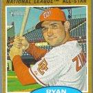 2011 Topps Heritage Baseball Sporting News NL All Star Ryan Zimmerman (Nationals) #392