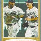 """2011 Topps Heritage Baseball """"Dodgers Dandies"""" Matt Kemp & Andre Ethier (Dodgers) #401"""