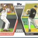 2011 Topps Baseball Diamond Duos Aroldis Chapman (Reds) & Chris Sale (White Sox) #DD13