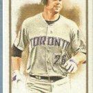 2011 Topps Allen & Ginter Baseball Mini Adam Lind (Blue Jays) #281