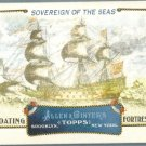 """2011 Topps Allen & Ginter Baseball """"Floating Fortresses"""" Sovereign of the Seas #FF5"""