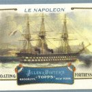 """2011 Topps Allen & Ginter Baseball """"Floating Fortresses"""" Le Napoleon #FF8"""