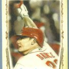 "2011 Topps Allen & Ginter Baseball ""Baseball Highlights Sketches"" Jay Bruce (Reds) #BHS2"