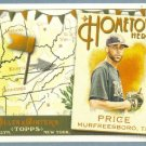 2011 Topps Allen & Ginter Baseball Hometown Heroes David Price (Rays) #HH20