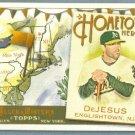 2011 Topps Allen & Ginter Baseball Hometown Heroes David DeJesus (Athletics) #HH41