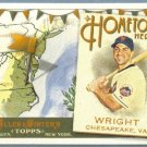2011 Topps Allen & Ginter Baseball Hometown Heroes David Wright (Mets) #HH42