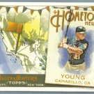 2011 Topps Allen & Ginter Baseball Hometown Heroes Delmon Young (Twins) #HH44