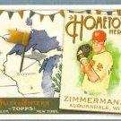 2011 Topps Allen & Ginter Baseball Hometown Heroes Jordan Zimmerman (Nationals) #HH57
