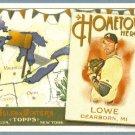 2011 Topps Allen & Ginter Baseball Hometown Heroes Derek Lowe (Braves) #HH66