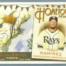 2011 Topps Allen & Ginter Baseball Hometown Heroes Manny Ramirez (Rays) #HH78