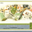 2011 Topps Allen & Ginter Baseball Short Print SP Hi Number Kurt Suzuki (Athletics) #309