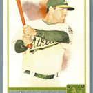 2011 Topps Allen & Ginter Baseball Short Print SP Hi Number David DeJesus (Athletics) #327