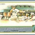 2011 Topps Allen & Ginter Baseball Short Print SP Hi Number Gaby Sanchez (Marlins) #334