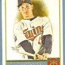 2011 Topps Allen & Ginter Baseball Short Print SP Hi Number Danny Valencia (Twins) #344