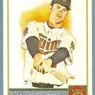 2011 Topps Allen & Ginter Baseball Short Print SP Hi Number Joe Mauer (Twins) #350