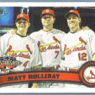 2011 Topps Update Baseball All Star Matt Holliday (Cardinals) #US260