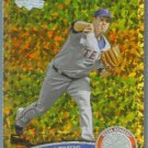 2011 Topps Update Baseball COGNAC Gold Sparkle Colby Lewis (Rangers) #352