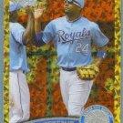 2011 Topps Update Baseball COGNAC Gold Sparkle Wilson Betemit (Royals) #369