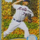 2011 Topps Update Baseball COGNAC Gold Sparkle Francisco Rodriguez (Mets) #US486