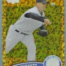 2011 Topps Update Baseball COGNAC Gold Sparkle A.J. Burnett (Yankees) #492