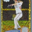 2011 Topps Update Baseball COGNAC Gold Sparkle Tommy Hanson (Braves) #505