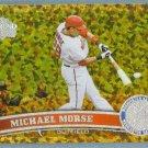 2011 Topps Update Baseball COGNAC Gold Sparkle Michael Morse (Nationals) #518