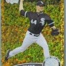 2011 Topps Update Baseball COGNAC Gold Sparkle Jake Peavy (White Sox) #537