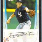 2011 Bowman Draft Picks & Prospects Tyler Pill (Mets) #BDPP17
