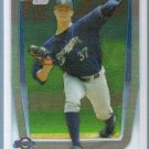 2011 Bowman Draft Picks & Prospects Chrome Matthew Budgell (Mets) #BDPP71
