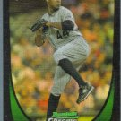 2011 Bowman Draft Picks & Prospects Chrome Refractor Rookie Juan Nicasio (Rockies) #66