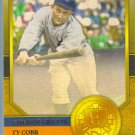 2012 Topps Baseball Golden Greats Ty Cobb (Tigers) #GG-18