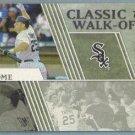 2012 Topps Baseball Classic Walk-Offs Jim Thome (White Sox) #CW-10