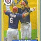 2012 Topps Baseball Mini Retro 1987 Jayson Werth (Nationals) #TM-13