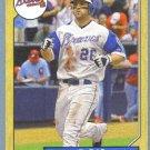 2012 Topps Baseball Mini Retro 1987 Dan Uggla (Braves) #TM-24