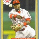 2012 Topps Baseball Mini Retro 1987 Brandon Phillips (Reds) #TM-31