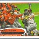 2012 Topps Baseball WS St Louis Cardinals (Cardinals) #233
