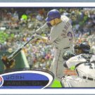 2012 Topps Baseball Rickie Weeks (Brewers) #492