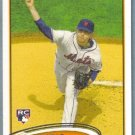2012 Topps Baseball Rookie Luis Marte (Tigers) #615