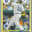 2012 Topps Baseball Mini Retro 1987 Prince Fielder (Tigers) #TM-58