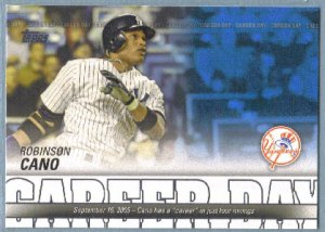 2012 Topps Baseball Career Day Robinson Cano (Yankees) #CD-18