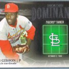 2012 Topps Baseball Mound Dominance Bob Gibson (Cardinals) #MD-6