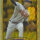 2012 Topps Baseball Gold Sparkle Julio Teheran (Braves) #352