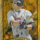 2012 Topps Baseball Gold Sparkle Martin Prado (Braves) #524