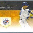 2012 Topps Baseball Golden Moments Jose Bautista (Blue Jays) #GM-6