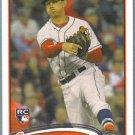 2012 Topps Update & Highlights Baseball Rookie Debut Matt Moore (Rays) #US64