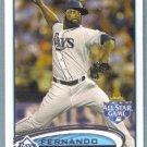 2012 Topps Update & Highlights Baseball All Star Fernando Rodney (Rays) #US68
