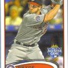 2012 Topps Update & Highlights Baseball All Star Dan Uggla (Braves) #US311