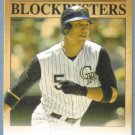 2012 Topps Update & Highlights Baseball Blockbusters Carlos Gonzalez (Rockies) #BB-27
