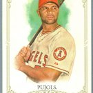 2012 Topps Allen & Ginter Baseball Albert Pujols (Angels) #1