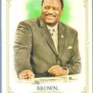 2012 Topps Allen & Ginter Baseball James Brown (Football Analyst) #220